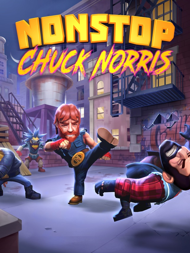 ‎Nonstop Chuck Norris Screenshot