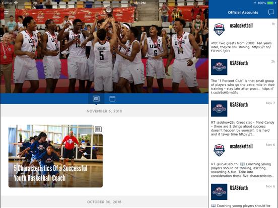 Screenshot #5 pour USA Basketball