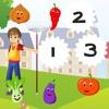 ガーデンでの123カウント:子供の教育
