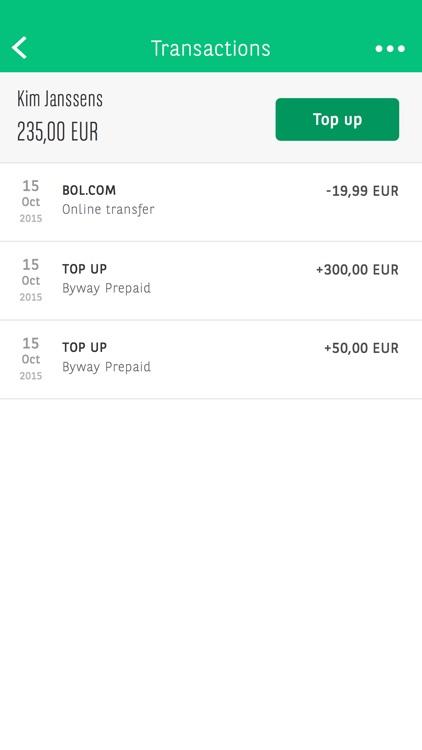 BNP Paribas Fortis Prepaid screenshot-3