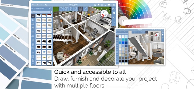 Home design 3d on the app store malvernweather Choice Image