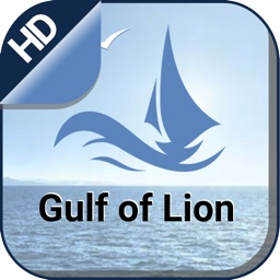 Gulf of Lion Is. sailing chart