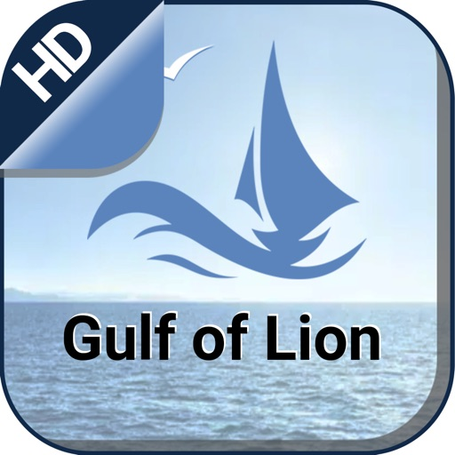 Gulf of Lion Is. sailing chart