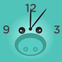 PiggyAlarm the Alarm Clock