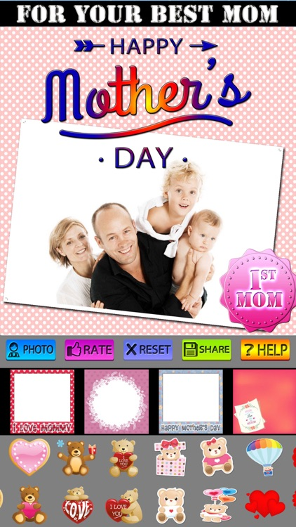 Mother's Day Frames and Labels screenshot-4