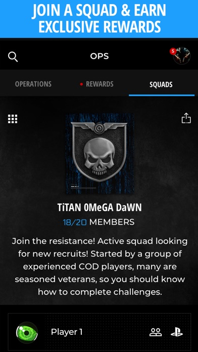 Call of Duty Companion App app image