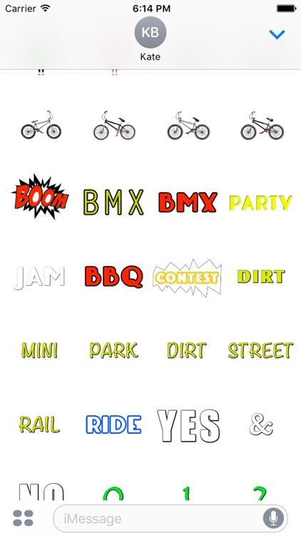 BMX STICKERS screenshot-3