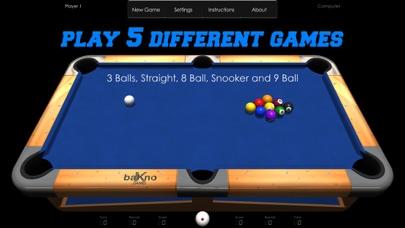 Billiards screenshot one