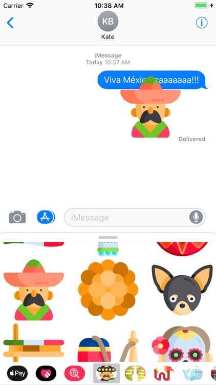 Viva México Stickers screenshot-4
