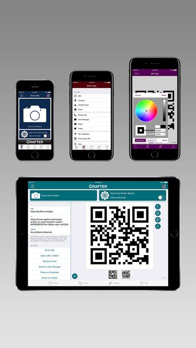 Qrafter Pro - QR Code Screenshots