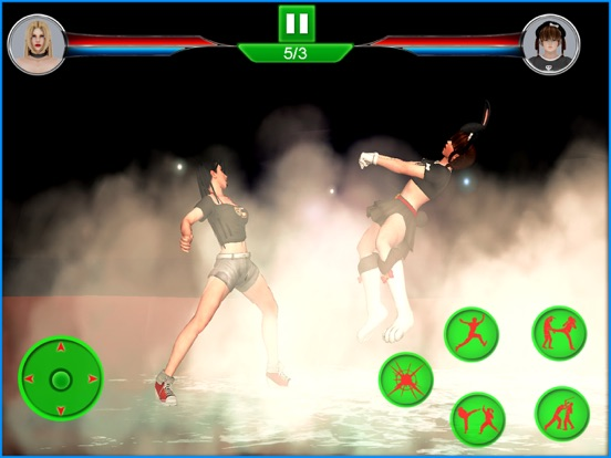 Image of Lady Warrior – Street Combat for iPad