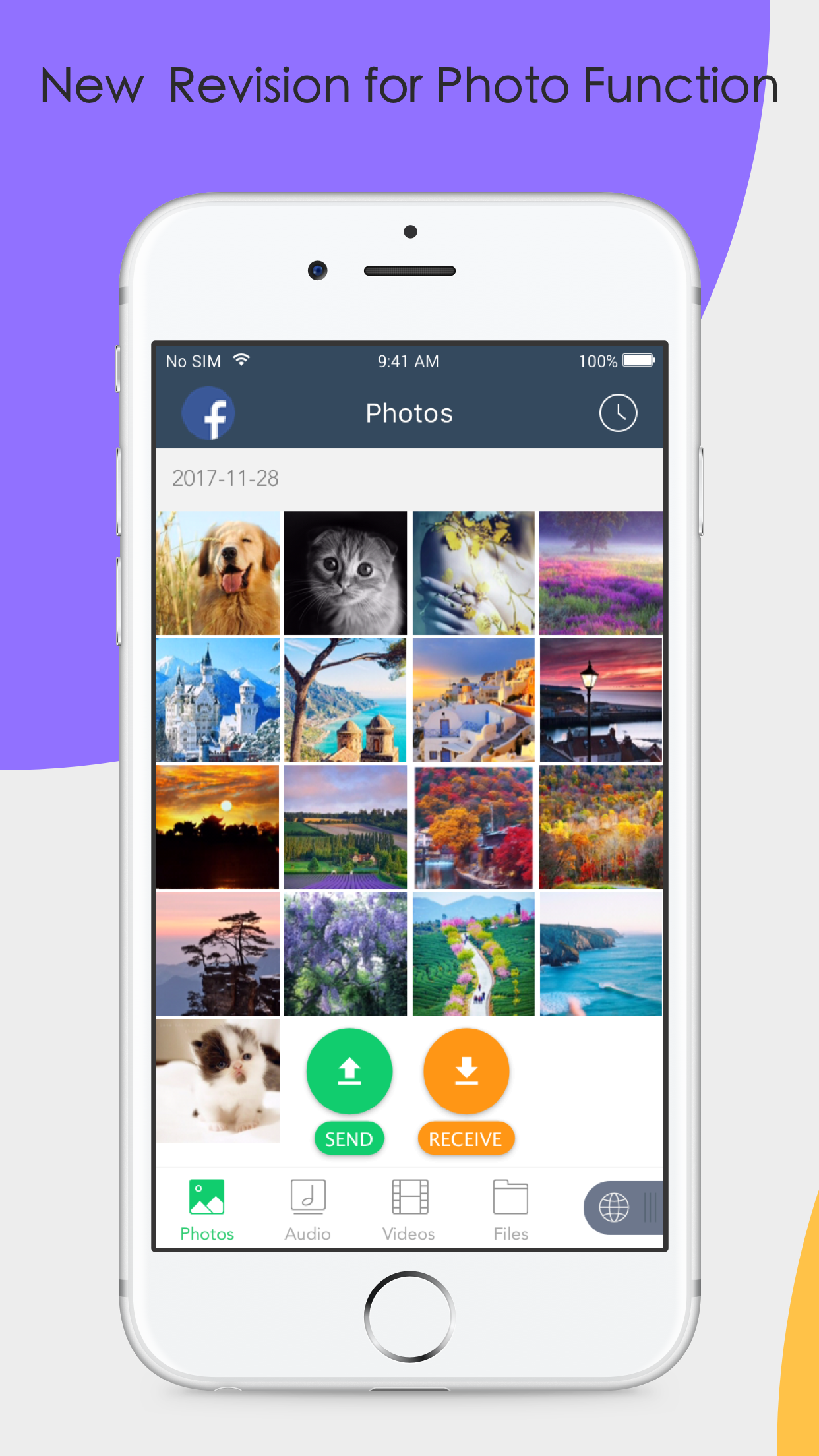 Xender: File Transfer, Sharing Screenshot