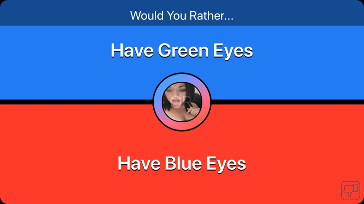 Conundrums- would you rather ? screenshot-0