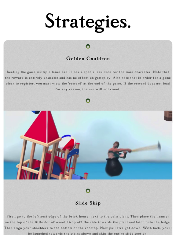 Cheats for Getting Over It screenshot 4