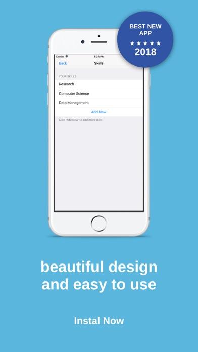 Resume Maker السيرة الذاتية screenshot 7