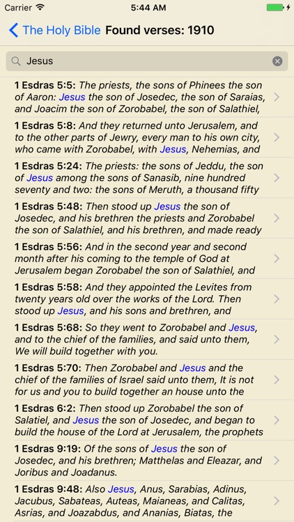 The Holy Bible (WEB) screenshot-3