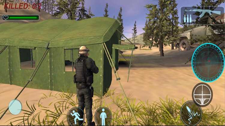 Desert Special Commando