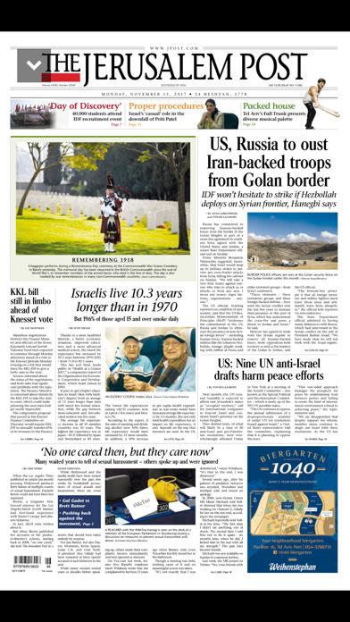 JPOST - Israel News Screenshot