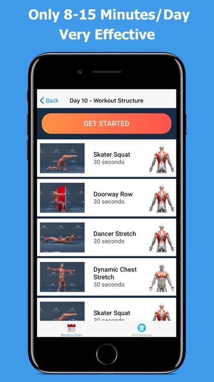 Back and Shoulder Workout screenshot-3