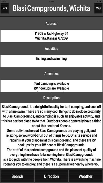 Kansas Camping Spots