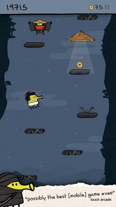 Doodle Jump - Insanely Good! Screenshot on iOS