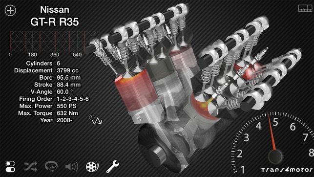 Trans4motor - Engine Simulator