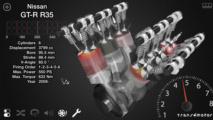 Trans4motor - Engine Simulator screenshot-0