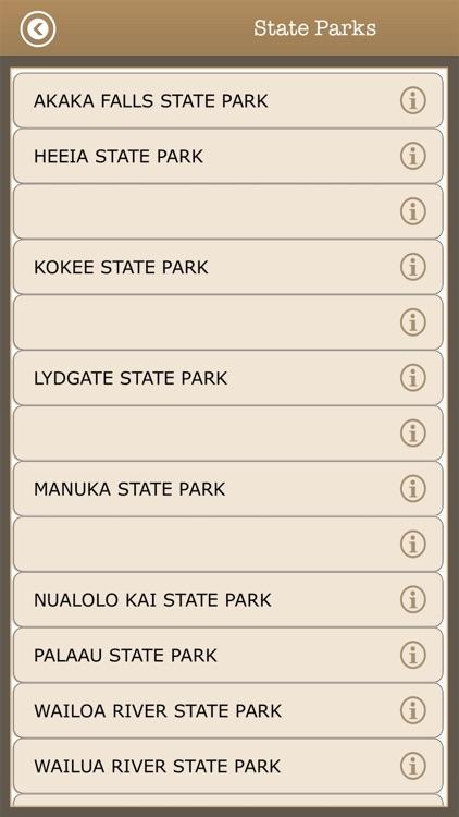 Great - Hawaii Camps & Trails screenshot-4