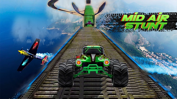 Monster Truck Stunt Racing mtd screenshot-3
