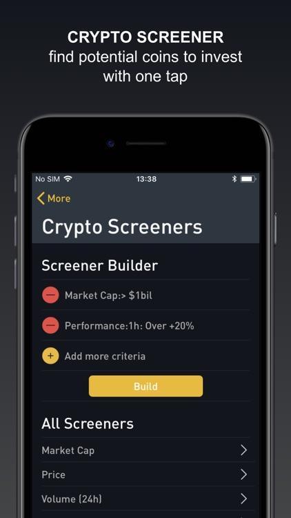 Crypto Tracker by BitScreener screenshot-5