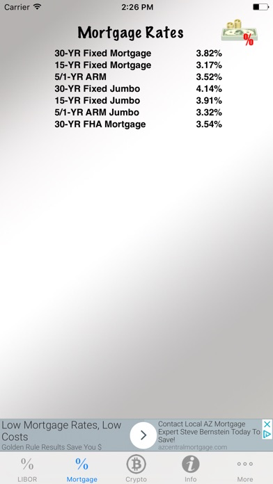 Interest Rate Tracker Скриншоты4