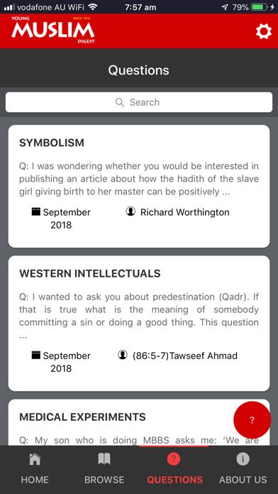 Young Muslim DigestScreenshot of 5