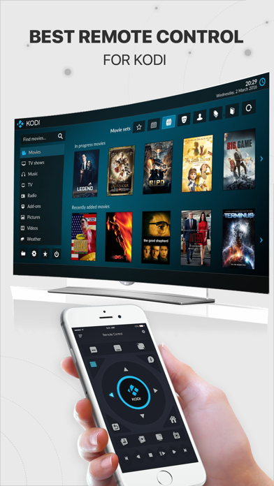 messages.download iRemote for Kodi software