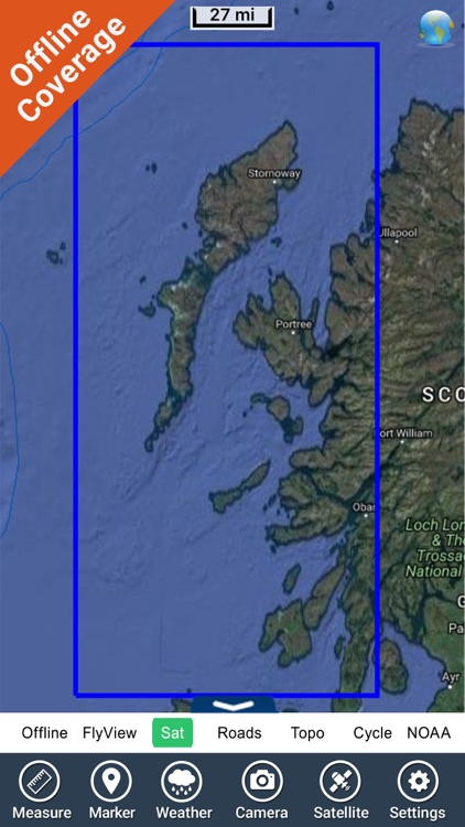 Marine : Hebrides GPS Map fishing chart Navigator screenshot-4