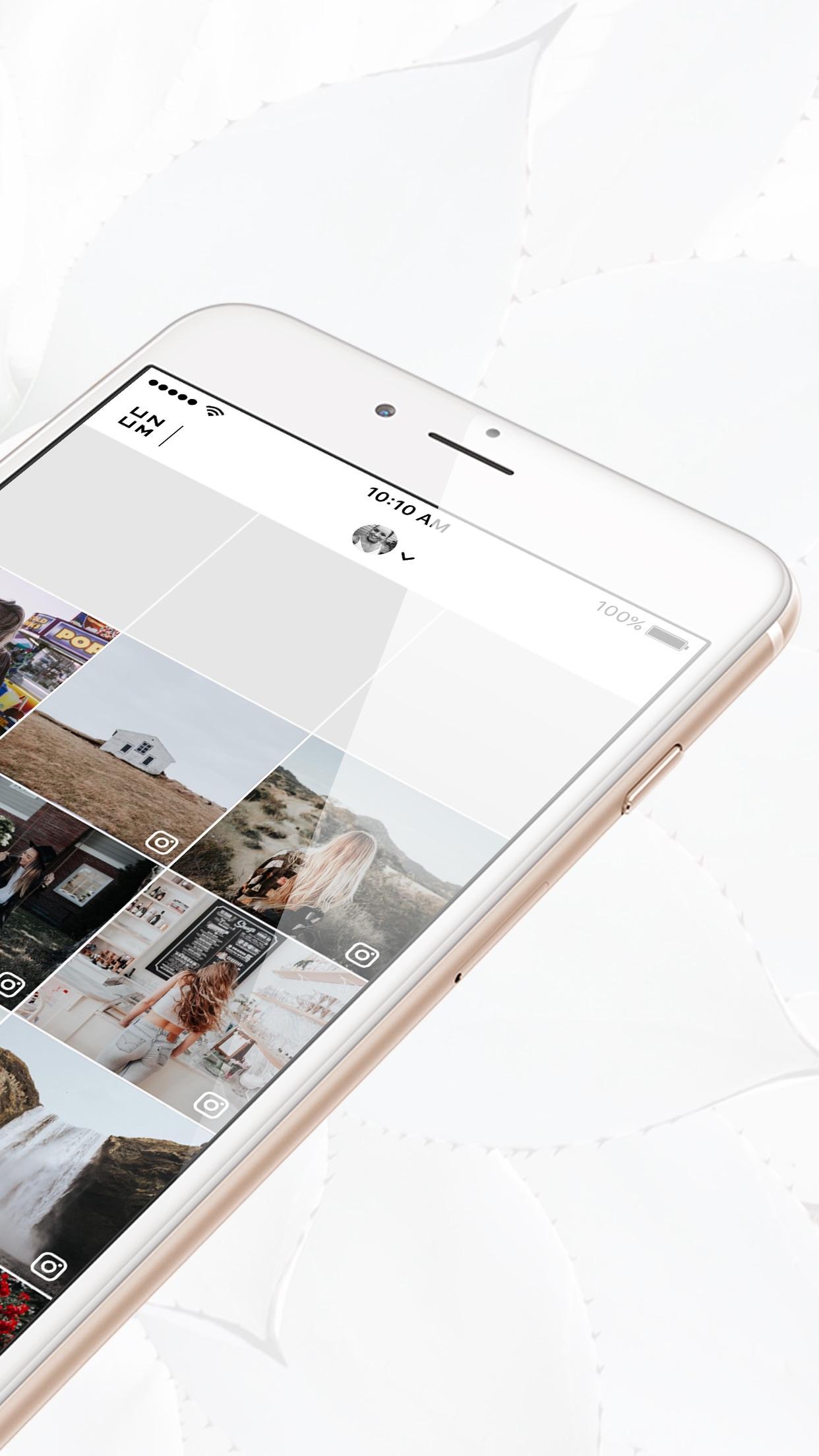 UNUM - Design Perfection Screenshot