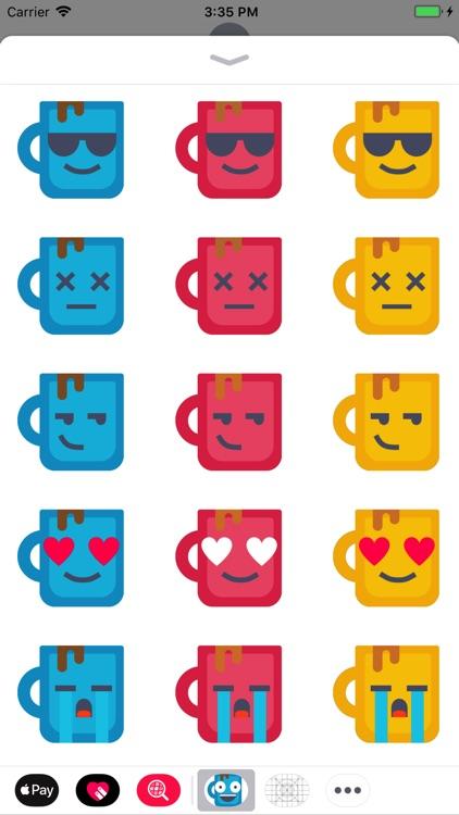 Happy Mug Stickers