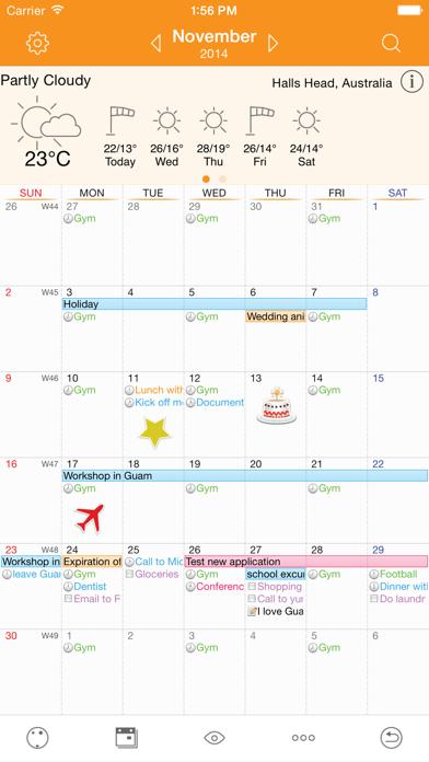 Awesome Calendar Screenshots