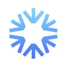 Ícone do app SNOCRU Skiing & Snow Tracking