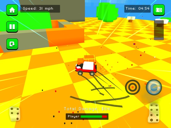 Blocky Demolition Derby на iPad