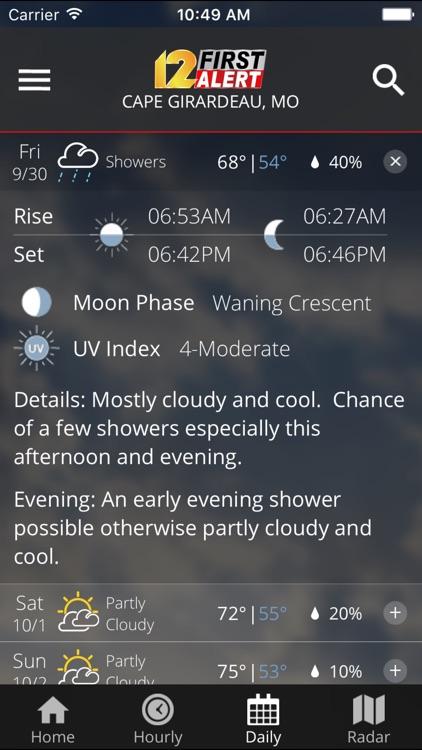 KFVS12 StormTeam Weather screenshot-3