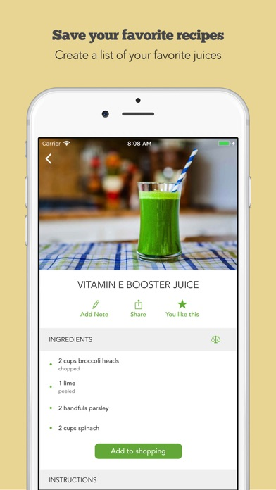 Screenshot for Juice Challenge by Young & Raw in Azerbaijan App Store