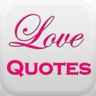 500浪漫的爱情引号,你所爱的人留下深刻的印象。 icon