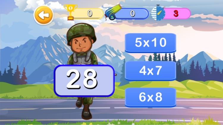 Math 3rd : Math Of Army screenshot-4