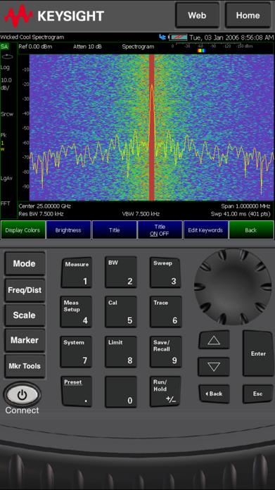 FieldFox Screenshot