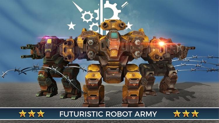 Robot War Simulation screenshot-4