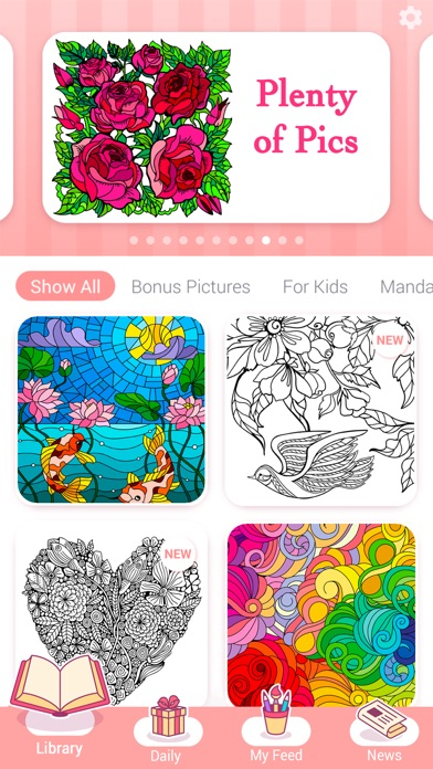 Happy Color™ – Color by Number screenshot 2
