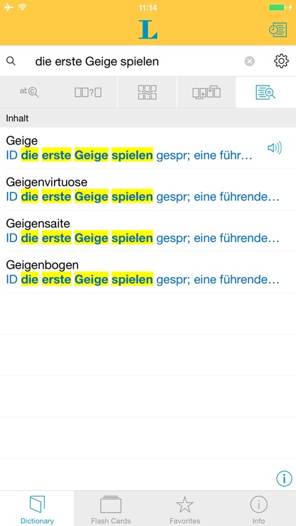 German Learner's Dictionary screenshot-1