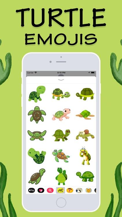 Turtles Emojis screenshot-3