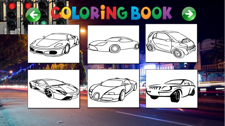 Best Coloring Painting of Cars