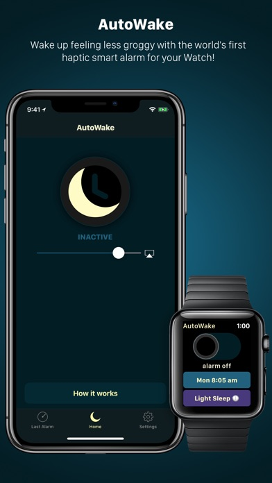 AutoWake. Smart Sleep Alarm Screenshot 1